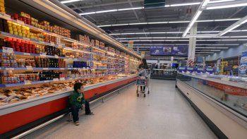 El efecto de la jornada #SuperVacíos se reflejó en los comercios, donde hubo menos clientes que lo habitual.