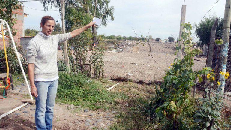 Belén González pidió que le regularicen la tenencia del lote.