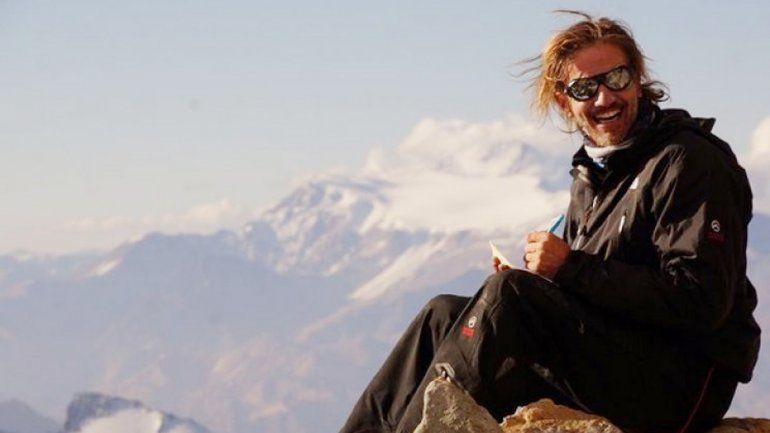 Antes de partir a China para ascender al pico más alto del mundo