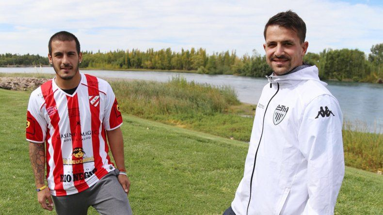 El goleador del Rojo y el guardavallas de Cipo anticiparon el duelo de esta tarde en LM Neuquén.
