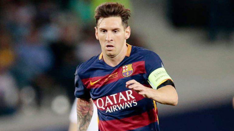 El rosarino será titular en el Barcelona