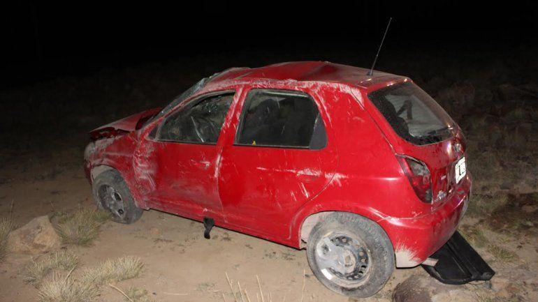 Accidente fatal en la Ruta 13: una mujer murió tras ser aplastada en un vuelco