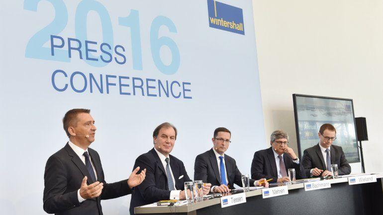 El directorio de Wintershall presentó los resultados 2015.