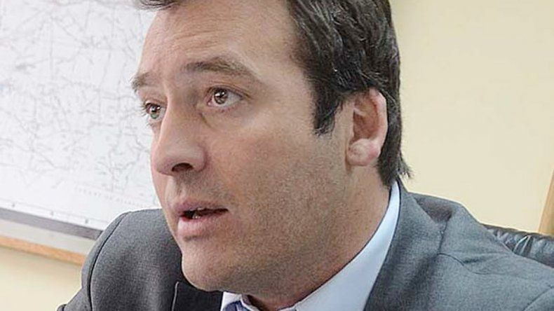 Martín Soria. Intendente de General Roca