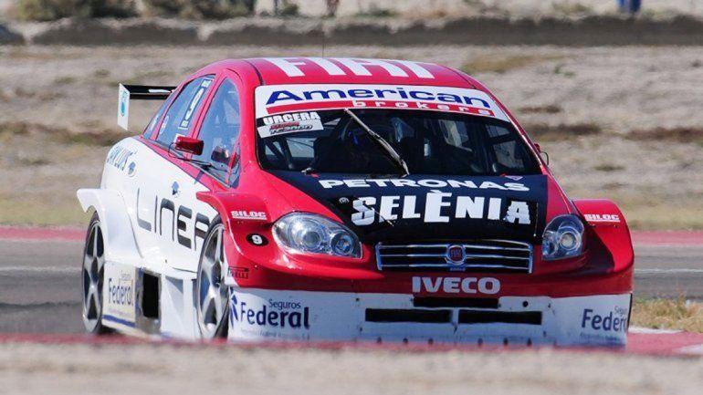 José Manuel Urcera largará primero en su serie