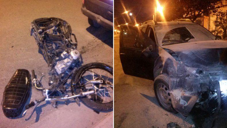 Murió un motociclista atropellado en el Oeste tras cruzar un semáforo en rojo