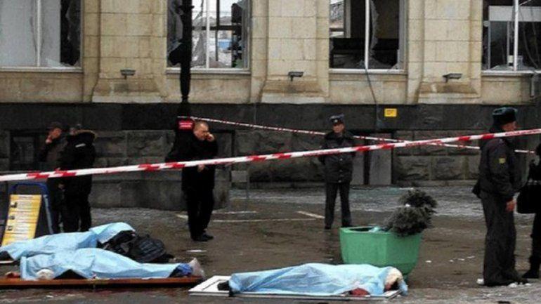 Tres kamikazes se hicieron estallar frente a una comisaría en el sur de Rusia