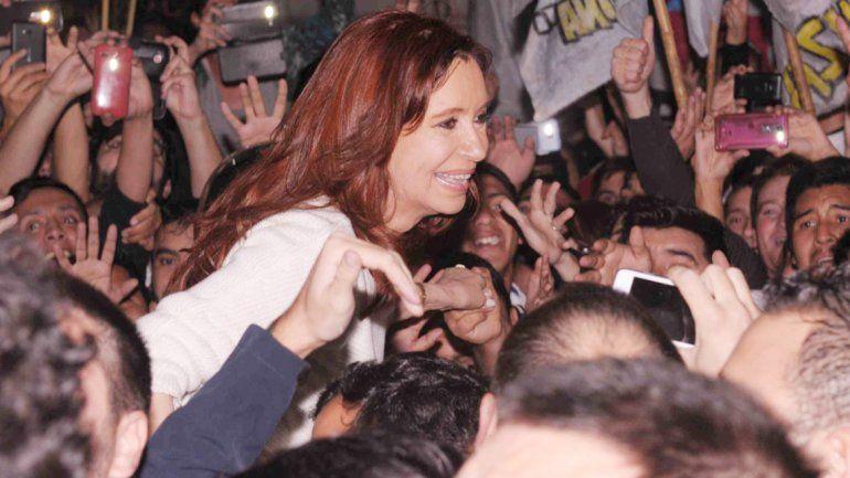 Cristina se instaló en su domicilio particular en Recoleta.