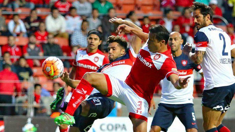 San Lorenzo perdió ante Toluca