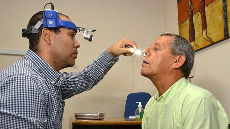 Pechi se hizo una rinoscopía y desafió al resto de los funcionarios