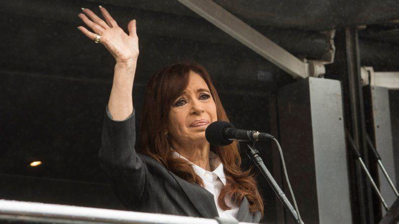 Cristina: La patria salió a la calle porque no tiene miedo