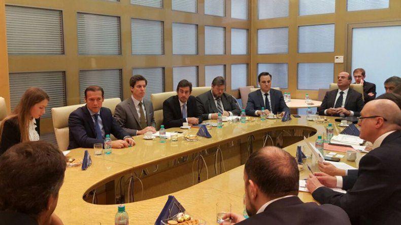 Gutiérrez se reunió ayer con autoridades del banco ruso en Moscú.
