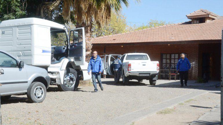 Delitos Económicos allanó la casa gitana y secuestró el camión en disputa.