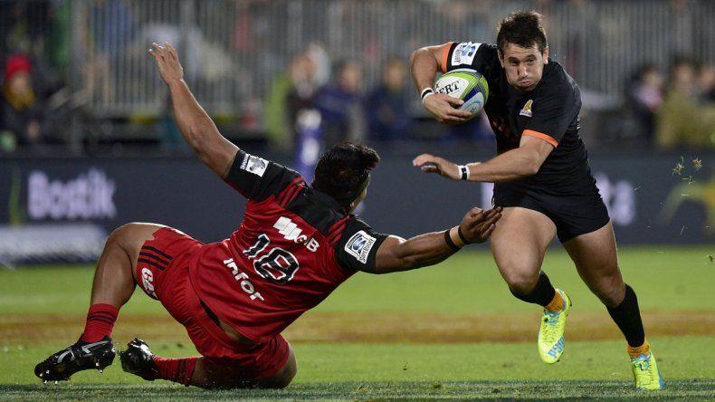 Los Jaguars cayeron ante Crusaders de Nueva Zelanda por 32 a 15.