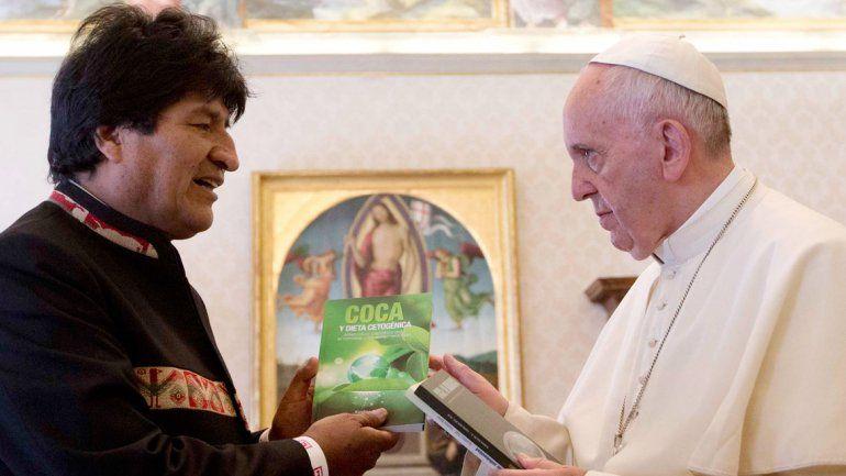Evo Morales y Francisco
