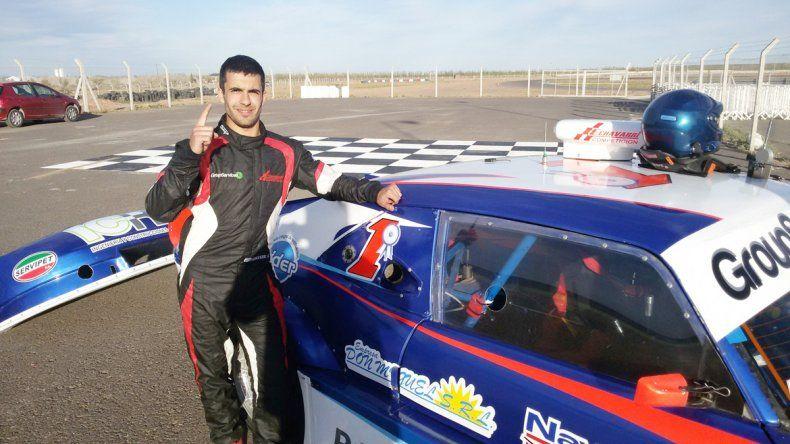 Dante Echavarri se quedó con la pole para la primera del año.