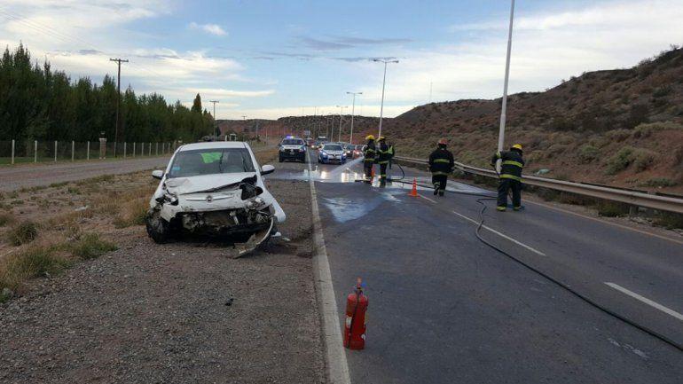 Borracho casi provoca una tragedia en la Ruta 7