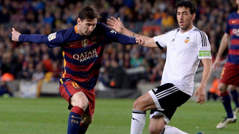 Pese al gol 500 de Messi, Barcelona perdió contra Valencia