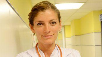 Luciana Ortiz Luna, médica de emergencias.
