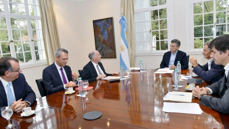 Mauricio Macri los convocó en la Quinta de Olivos.