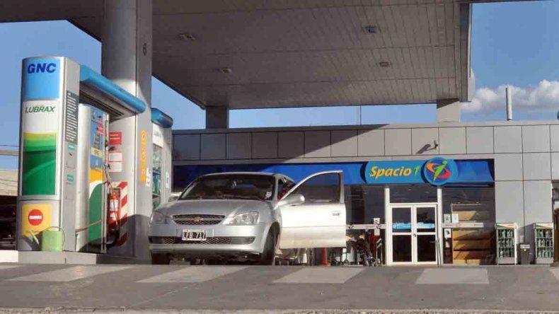 La estación de servicio Petrobras de Centenario fue una de las asaltadas por el Checho Delvas.