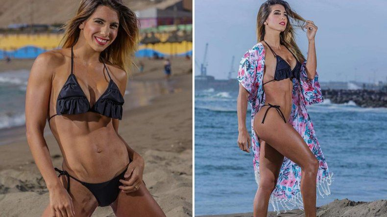 Cinthia Fernández cautivó en Chile con fotos muy sexy