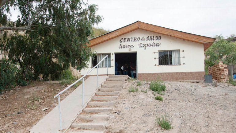 El centro de salud de Nueva España tiene además enfermeros.