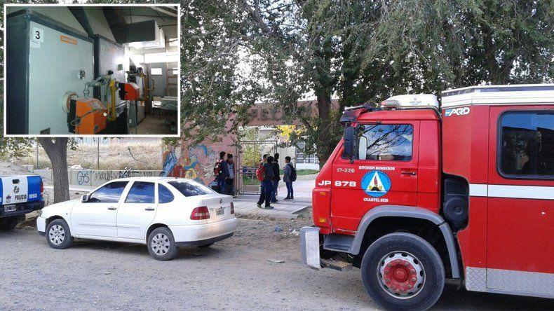 Explotó una caldera en la EPET 17: no hay heridos