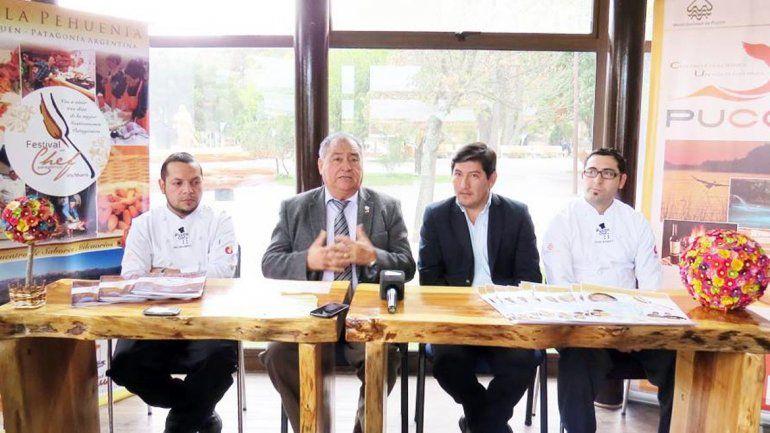 Villa Pehuenia promocionó el Festival de Chef Patagónico en Chile