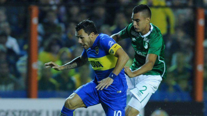 Boca goleó 6 a 2 a Deportivo Cali y ganó su grupo