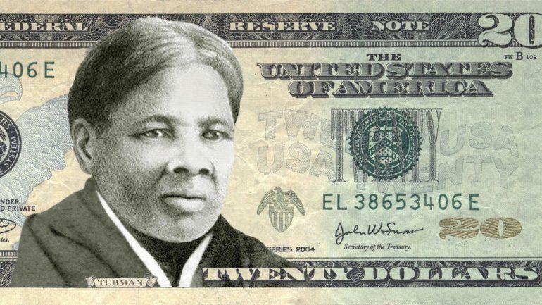 Es Harriet Tubman. Participó en la guerra civil y falleció en 1930.