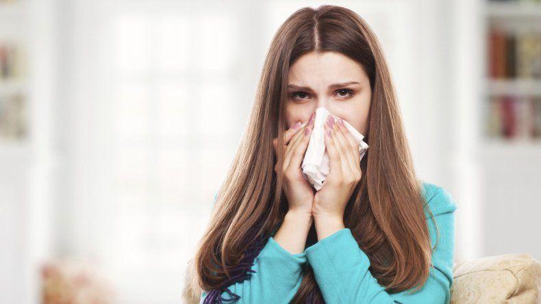 Las alergias también florecen en esta época.
