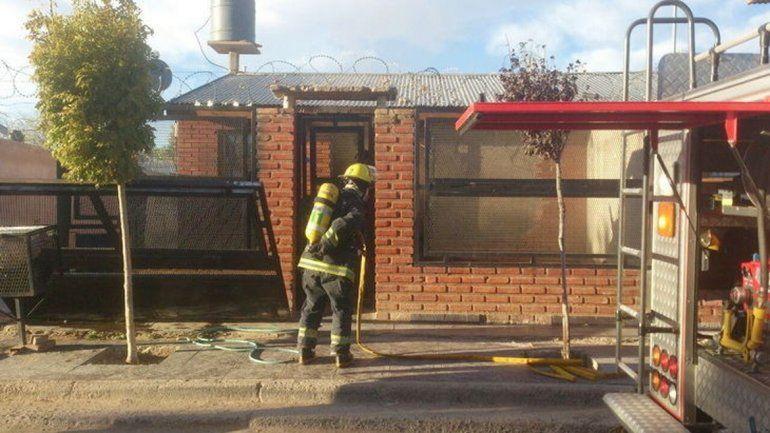 La casa incendiada estaba deshabitada