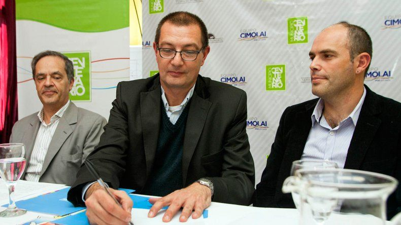 Francisco Zambón y Esteban Cimolai