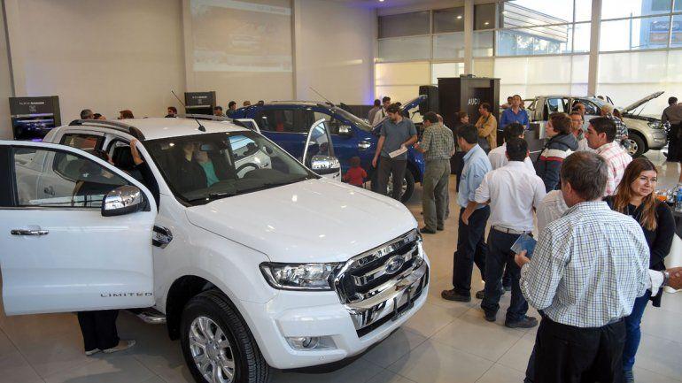 La nueva Ford Ranger se presentó en Arauco.