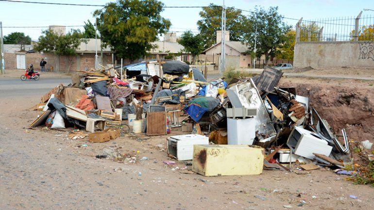 La limpieza de un basural de Gregorio Álvarez duró tres días