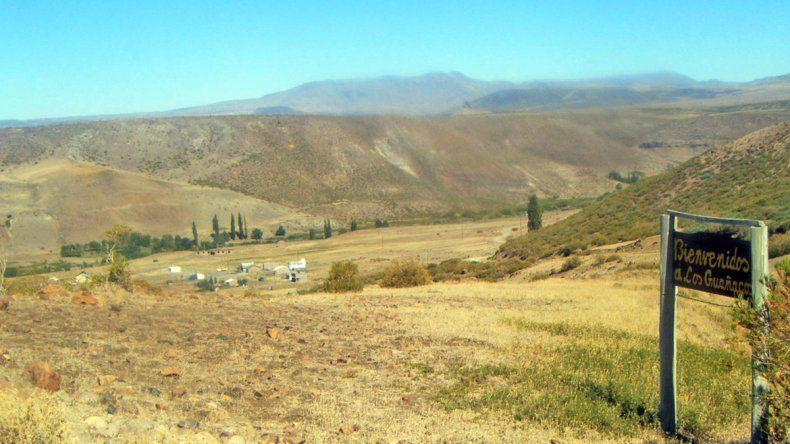 Guañacos es un típico pueblo del norte neuquino