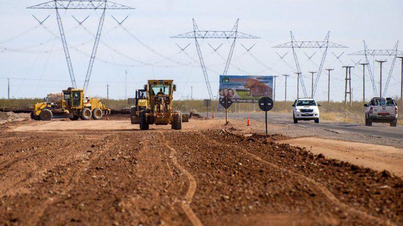 A fines de mayo podrá usarse el camino que une la Autovía Norte con la Ruta 51