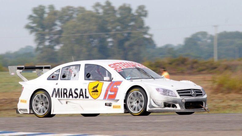 Camilo Echevarría está confiado en el trabajo que hizo el equipo en el Mercedes.