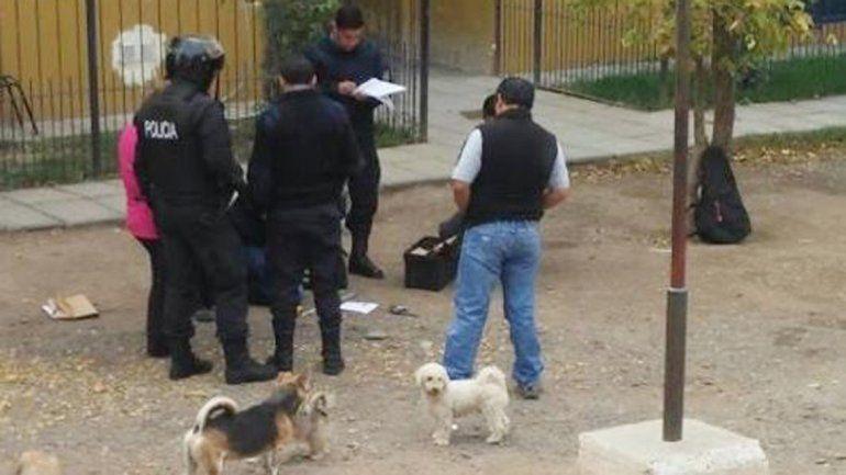 El procedimiento de la Policía rionegrina en las 432 Viviendas.
