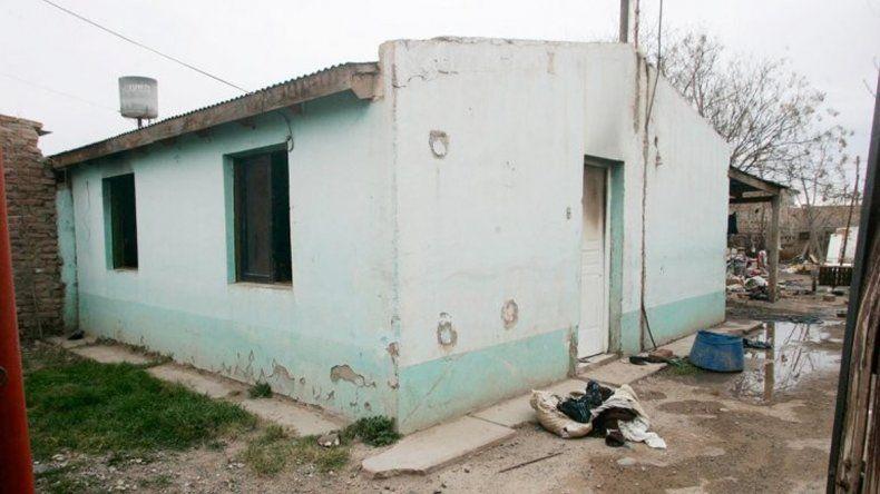 La casa donde murió quemada la ex.