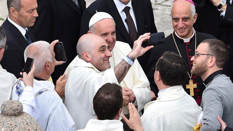 Francisco brindó una misa para unos 70 mil jóvenes.