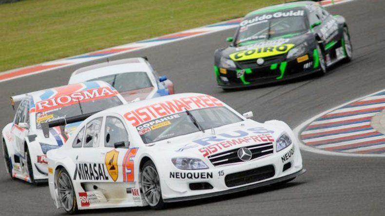 El piloto neuquino quedó a dos giros del ganador Franco Girolami.