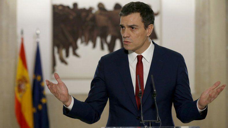 El Socialismo español presentó una propuesta para hacerse cargo del Gobierno
