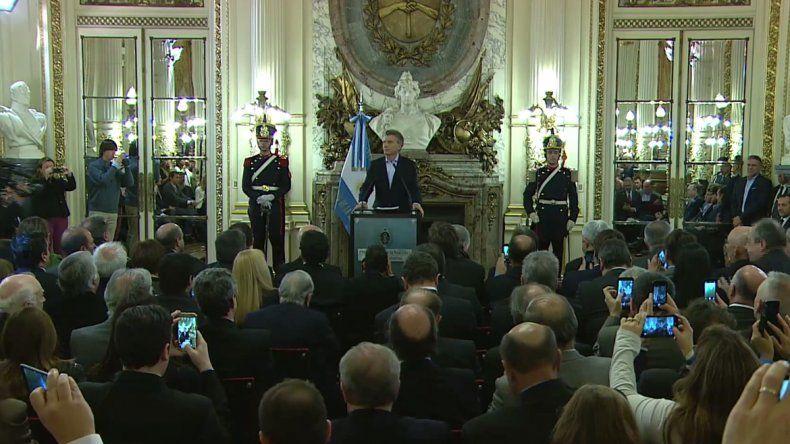 Macri presentó en plan nacional de Turismo