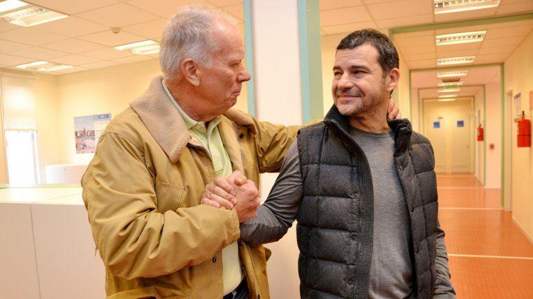Marcó una huella. Galuccio fue reconocido por el personal tras su despedida de Vaca Muerta.