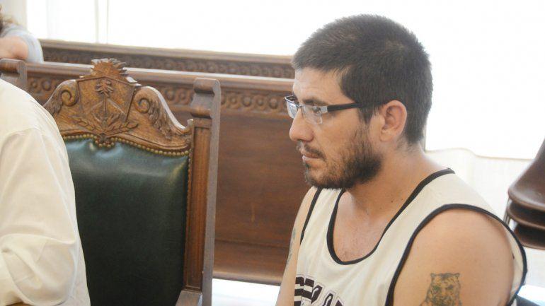 Rafael Aguiar durante la acusación