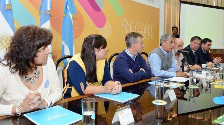 Quiroga lanzó ayer la campaña vial Neuquén