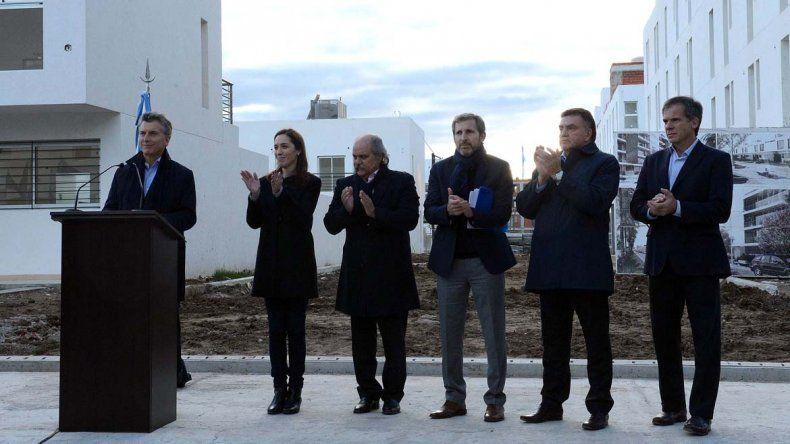 Macri lanzó un plan para construir 120 mil viviendas