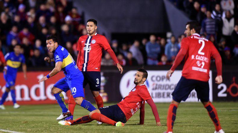 Boca hizo las cosas bien y tuvo un arranque alentador en Paraguay
